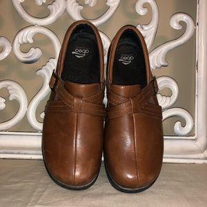 Abeo Shoes   Bella Brown Clog Nonslip